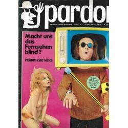 pardon Heft 7 / Juli 1969 - Macht uns das Fernsehen blind?