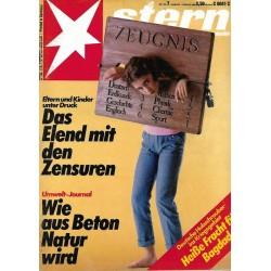 stern Heft Nr.7 / 7 Februar 1985 - Das Elend mit den Zensuren