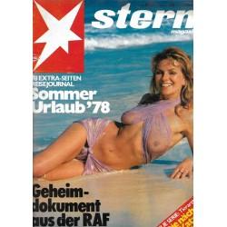 stern Heft Nr.23 / 1 Juni 1978 - Sommer Urlaub 1978