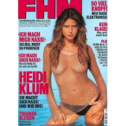 FHM Dezember 2001 - Heidi Klum