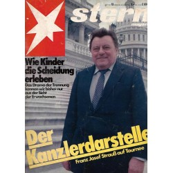 stern Heft Nr.13 / 20 März 1980 - Der Kanzlerdarsteller