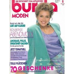 burda Moden 11/November 1990 - Bezaubernde Abendmode