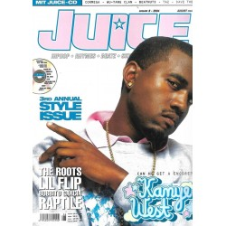 JUICE Nr.66 August / 2004 & CD 44 - Kanye West
