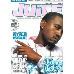 JUICE Nr.66 August / 2004 & CD 44 - Kanye West
