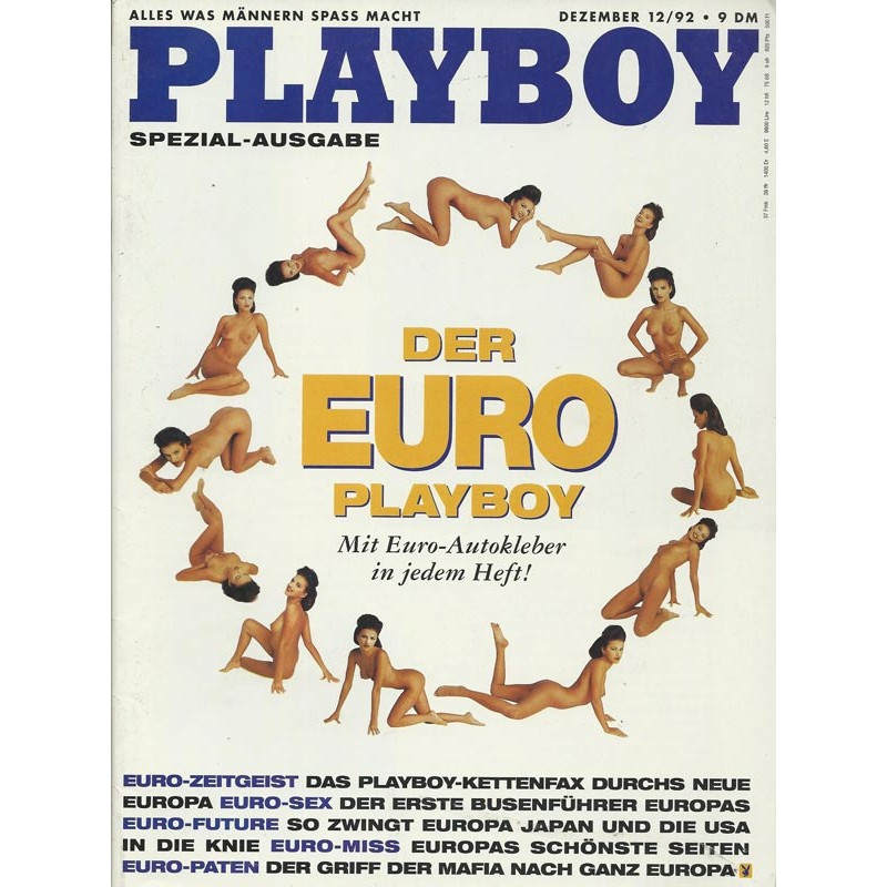 Playboy Nr.12 / Dezember 1992 - Svetlana Asanin
