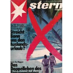 stern Heft Nr.4 / 15 Jan. 1981 - Streicht Bonn den Auslandsurlaub?