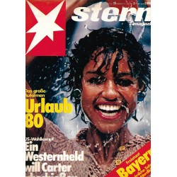 stern Heft Nr.25 / 12 Juni 1980 - Urlaub 80