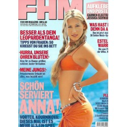 FHM September 2001 - Anna Kournikova