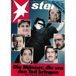 stern Heft Nr.37 / 7 September 1989 - Weltkrieg der Drogenbosse