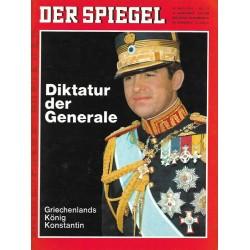 Der Spiegel Nr.21 / 15 Mai 1967 - Diktatur der Generale