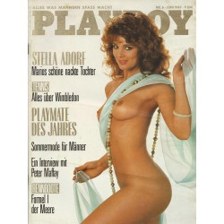 Playboy Nr.6 - Juni 1987 - Stella Kobs