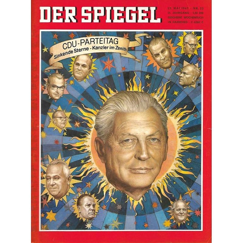Der Spiegel Nr.22 / 22 Mai 1967 - CDU Parteitag
