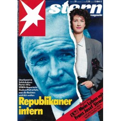 stern Heft Nr.28 / 6 Juli 1989 - Republikaner intern