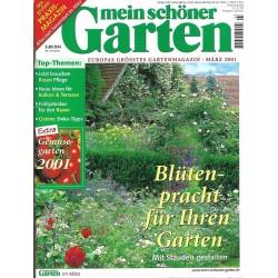 Mein schöner Garten / März 2001 - Blütenpracht für ihren Garten