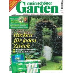 Mein schöner Garten / Januar 1998 - Hecken für jeden Zweck