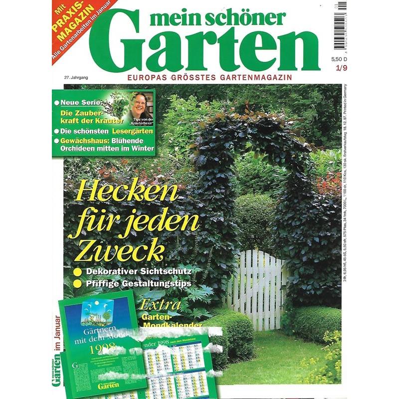 Mein Schoner Garten Januar 1998 Hecken Fur Jeden Zweck Zeitschrift