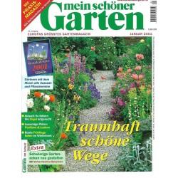 Mein schöner Garten / Januar 2001 - Traumhaft schöne Wege