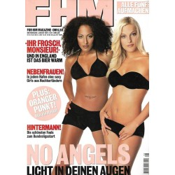 FHM August 2001 - No Angels