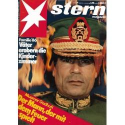 stern Heft Nr.4 / 16 Januar 1986 - Muamar Gadhafi