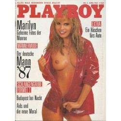 Playboy Nr.4 / April 1987 - Carmen Berg