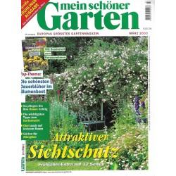Mein schöner Garten / März 2000 - Attaktiver Sichtschutz