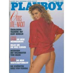 Playboy Nr.10 / Oktober 1987 - Ute Sander