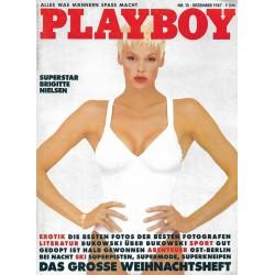 Playboy Nr.12 / Dezember 1987 - Brigitte Nielsen