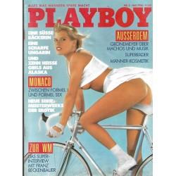 Playboy Nr.5 / Mai 1986 - Birgit Joester