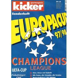 Kicker Europacup 97/98 - Champions League