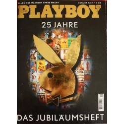 Playboy Nr.8 / August 1997 - Das Jubiläumsheft 25 Jahre