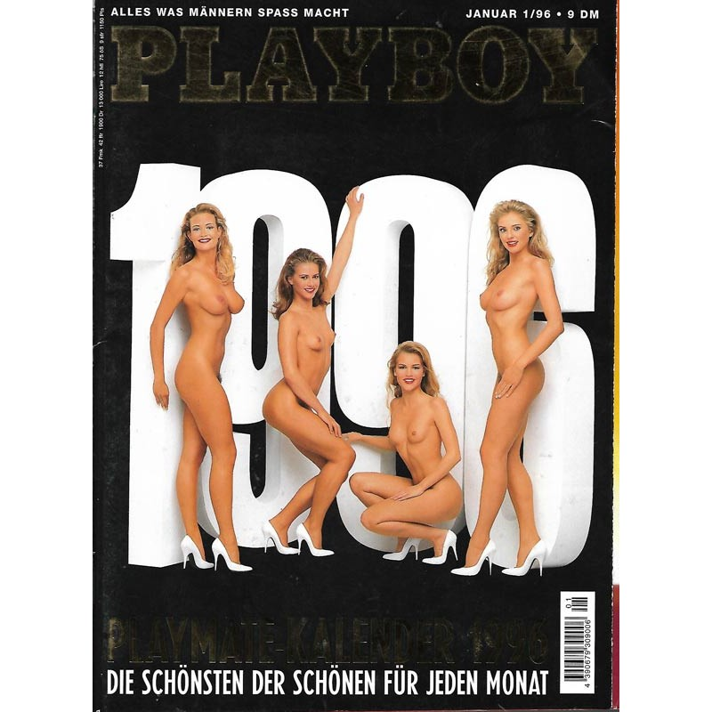 Playboy Nr.1 / Januar 1996 - Playmate Kalender 1996