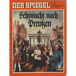 Der Spiegel Nr.1/2 / 5 Januar 1981 - Sehnsucht nach Preußen