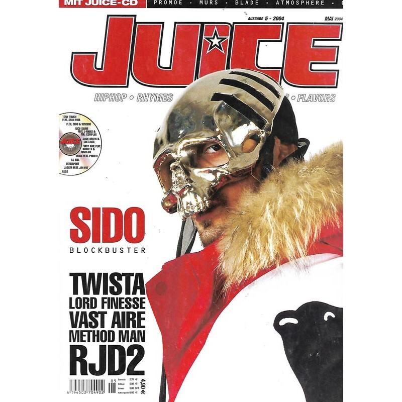 JUICE Nr.63 Mai / 2005 & CD 41- Sido Blockbuster