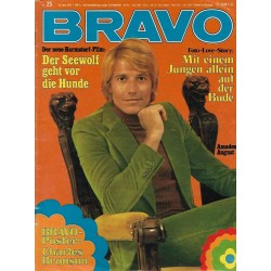 BRAVO Nr.25 / 14 Juni 1972 - Amadeus August