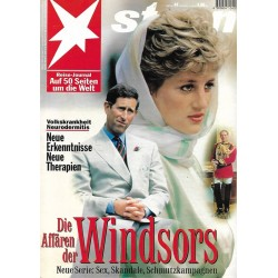 stern Heft Nr.44 / 27 Oktober 1994 - Die Windsors