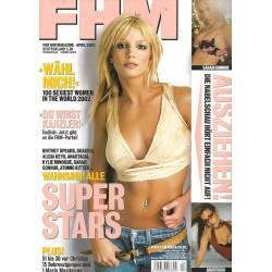 FHM April 2002 - Super Stars