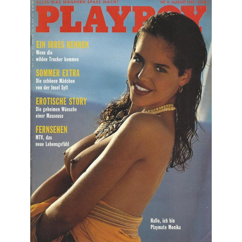 Playboy Nr.8 / August 1991 - Monika Stelling