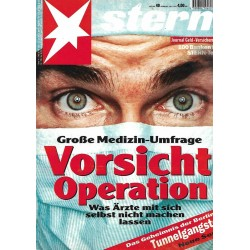 stern Heft Nr.40 / 28 September 1995 - Vorsicht Operation