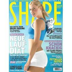 Shape 3/März 2009 - Armanda / Neue Laufdiät