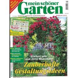 Mein schöner Garten / Februar 2000 - Zauberhafte Gestaltungsideen
