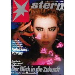 stern Heft Nr.2 / 30 Dezember 1986 - Der Blick in die Zukunft