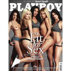 Playboy Nr.4 / April 2016 - Fit for Sex
