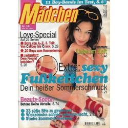 Mädchen Nr.16 /  24 Juli 1996 - Sexy Fußkettchen