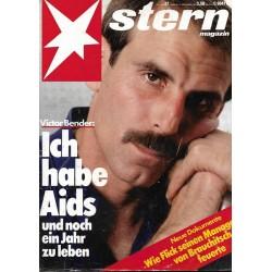 stern Heft Nr.37 / 5 September 1985 - Ich habe Aids