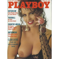 Playboy Nr.3 / März 1991 - Claire-Louise Hickory
