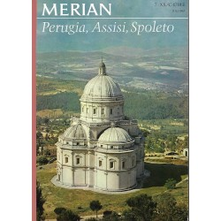 MERIAN Perugia, Assisi, Spoleto 7/XX/C Juli 1967