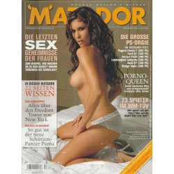 Matador Dezember 2005 - Karolina