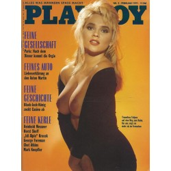Playboy Nr.2 / Februar 1991 - Tatjana Simic