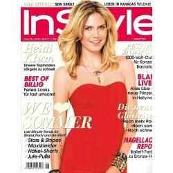 InStyle 8/August 2011 - Heidi Klum / We Love Sommer