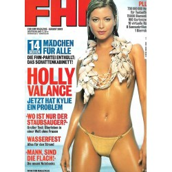 FHM August 2002 - Holly Valance
